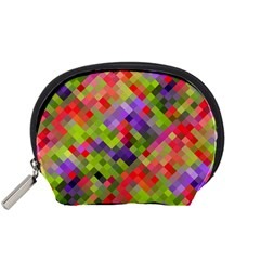 Colorful Mosaic Accessory Pouches (small)  by DanaeStudio