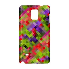 Colorful Mosaic Samsung Galaxy Note 4 Hardshell Case by DanaeStudio