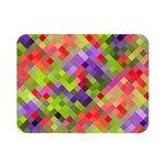 Colorful Mosaic Double Sided Flano Blanket (Mini)