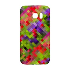 Colorful Mosaic Galaxy S6 Edge by DanaeStudio
