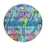 Drake 1 800 Hotline Bling Ornament (Round)