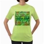Drake 1 800 Hotline Bling Women s Green T-Shirt