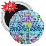 Drake 1 800 Hotline Bling 3  Magnets (100 pack)