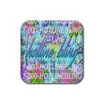 Drake 1 800 Hotline Bling Rubber Square Coaster (4 pack)