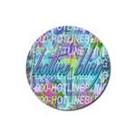 Drake 1 800 Hotline Bling Rubber Round Coaster (4 pack)