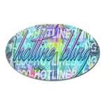 Drake 1 800 Hotline Bling Oval Magnet