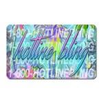 Drake 1 800 Hotline Bling Magnet (Rectangular)