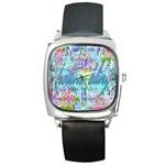 Drake 1 800 Hotline Bling Square Metal Watch