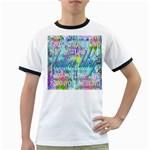Drake 1 800 Hotline Bling Ringer T-Shirts