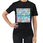 Drake 1 800 Hotline Bling Women s T-Shirt (Black) (Two Sided)