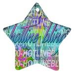 Drake 1 800 Hotline Bling Star Ornament (Two Sides)