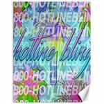 Drake 1 800 Hotline Bling Canvas 18  x 24