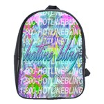 Drake 1 800 Hotline Bling School Bags(Large)