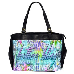 Drake 1 800 Hotline Bling Office Handbags (2 Sides)  by Onesevenart