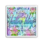 Drake 1 800 Hotline Bling Memory Card Reader (Square)