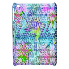 Drake 1 800 Hotline Bling Apple Ipad Mini Hardshell Case by Onesevenart