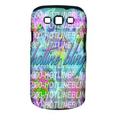 Drake 1 800 Hotline Bling Samsung Galaxy S Iii Classic Hardshell Case (pc+silicone) by Onesevenart