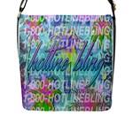 Drake 1 800 Hotline Bling Flap Messenger Bag (L)