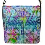 Drake 1 800 Hotline Bling Flap Messenger Bag (S)