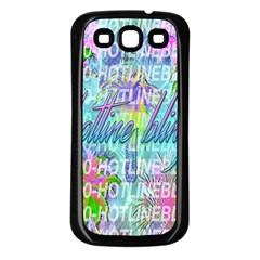 Drake 1 800 Hotline Bling Samsung Galaxy S3 Back Case (black) by Onesevenart