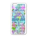 Drake 1 800 Hotline Bling Apple iPhone 6/6S White Enamel Case