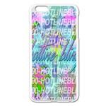 Drake 1 800 Hotline Bling Apple iPhone 6 Plus/6S Plus Enamel White Case