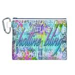Drake 1 800 Hotline Bling Canvas Cosmetic Bag (L)