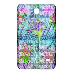 Drake 1 800 Hotline Bling Samsung Galaxy Tab 4 (8 ) Hardshell Case  by Onesevenart