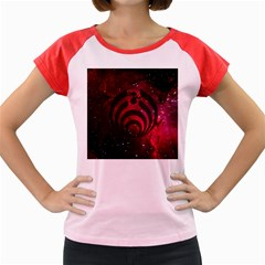 Bassnectar Galaxy Nebula Women s Cap Sleeve T Shirt by Onesevenart