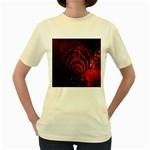Bassnectar Galaxy Nebula Women s Yellow T-Shirt