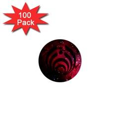 Bassnectar Galaxy Nebula 1  Mini Buttons (100 Pack)  by Onesevenart