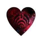 Bassnectar Galaxy Nebula Heart Magnet