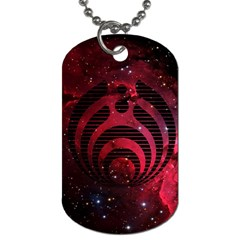 Bassnectar Galaxy Nebula Dog Tag (two Sides) by Onesevenart