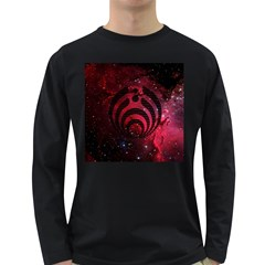 Bassnectar Galaxy Nebula Long Sleeve Dark T Shirts by Onesevenart