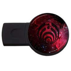 Bassnectar Galaxy Nebula Usb Flash Drive Round (4 Gb)  by Onesevenart