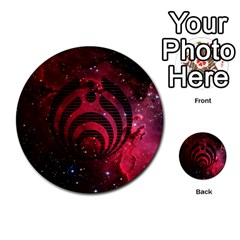 Bassnectar Galaxy Nebula Multi Purpose Cards (round)  by Onesevenart