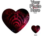 Bassnectar Galaxy Nebula Multi-purpose Cards (Heart)