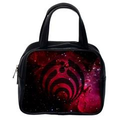 Bassnectar Galaxy Nebula Classic Handbags (one Side) by Onesevenart