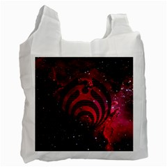 Bassnectar Galaxy Nebula Recycle Bag (two Side)  by Onesevenart