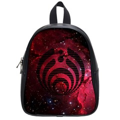 Bassnectar Galaxy Nebula School Bags (small)  by Onesevenart