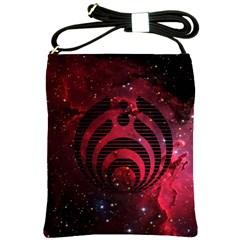 Bassnectar Galaxy Nebula Shoulder Sling Bags by Onesevenart