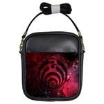 Bassnectar Galaxy Nebula Girls Sling Bags