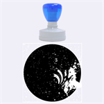 Bassnectar Galaxy Nebula Rubber Round Stamps (Large)