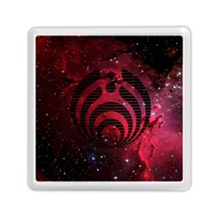Bassnectar Galaxy Nebula Memory Card Reader (square)  by Onesevenart