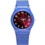 Bassnectar Galaxy Nebula Round Plastic Sport Watch (S)
