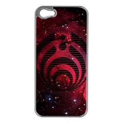 Bassnectar Galaxy Nebula Apple Iphone 5 Case (silver) by Onesevenart