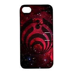 Bassnectar Galaxy Nebula Apple Iphone 4/4s Hardshell Case With Stand by Onesevenart