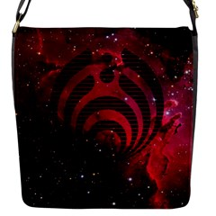 Bassnectar Galaxy Nebula Flap Messenger Bag (s) by Onesevenart