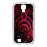 Bassnectar Galaxy Nebula Samsung GALAXY S4 I9500/ I9505 Case (White)