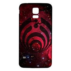 Bassnectar Galaxy Nebula Samsung Galaxy S5 Back Case (white) by Onesevenart